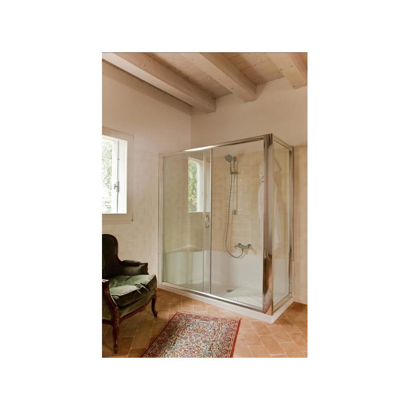 Kit cabina e piatto doccia 170x70 per sostituzione vasca - Cabine doccia in vetro ...