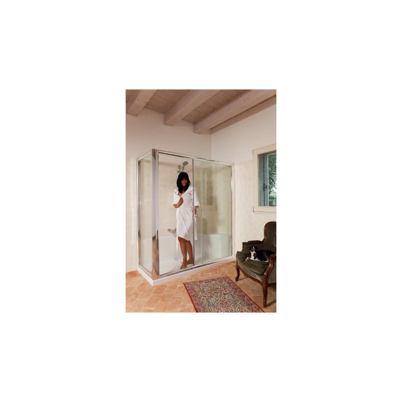 Kit cabina e piatto doccia 170 x 70 per sostituzione vasca in offerta - Cabine per vasca da bagno ...