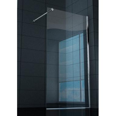 Box doccia prete walk-in superlusso vetro trasparente 8 mm