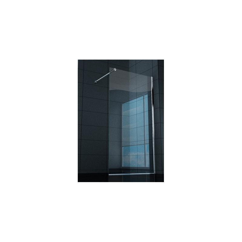Parete doccia walk in superlusso vetro trasparente 8 mm - Cabine doccia in vetro ...