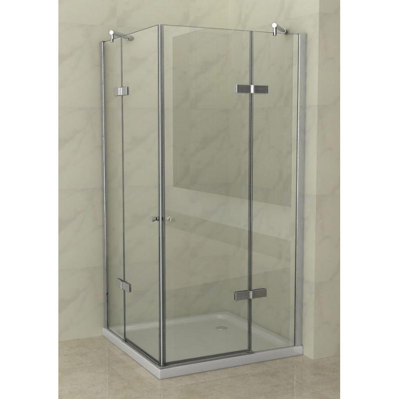 Cabina doccia 2 ante battenti vetro 8 mm in offerta speciale - Cabine doccia in vetro ...