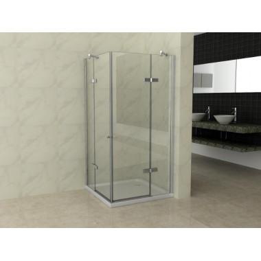 Esempio installazione cabina doccia 2 ante battenti
