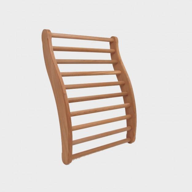 Schienale ergonomico per sauna