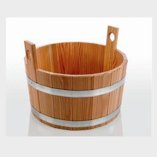 Bacinella per piedi in legno di larice