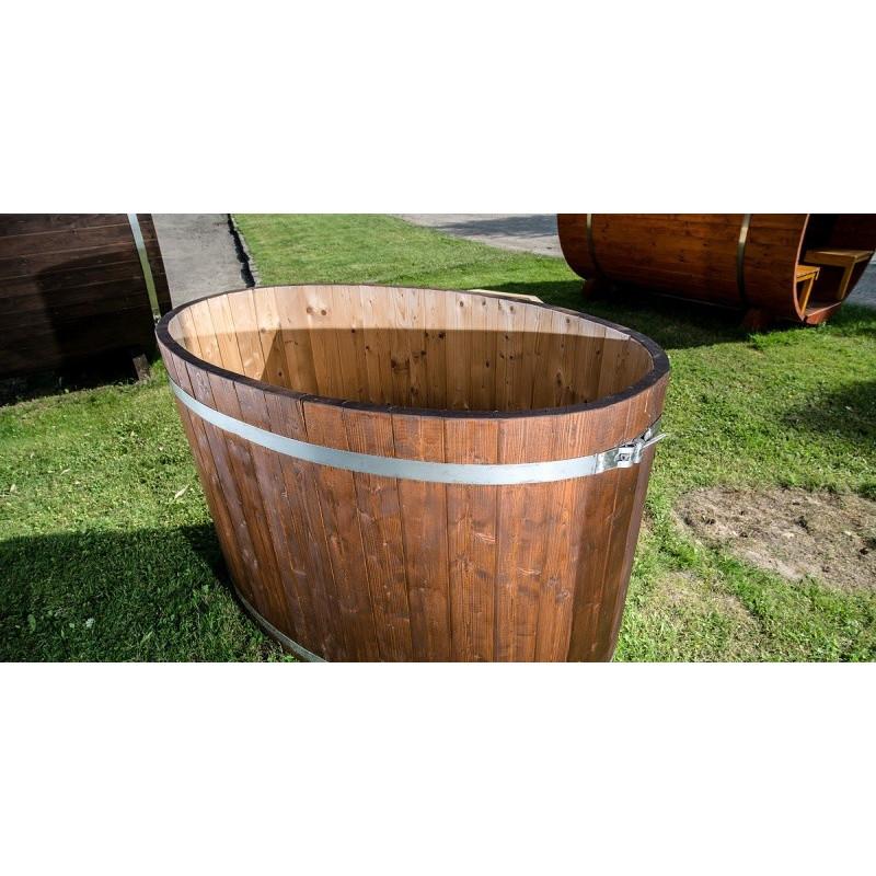 Vasca per esterno tinozza in legno abete ovale rotonda miglior prezzo - Finestra rotonda e ovale ...