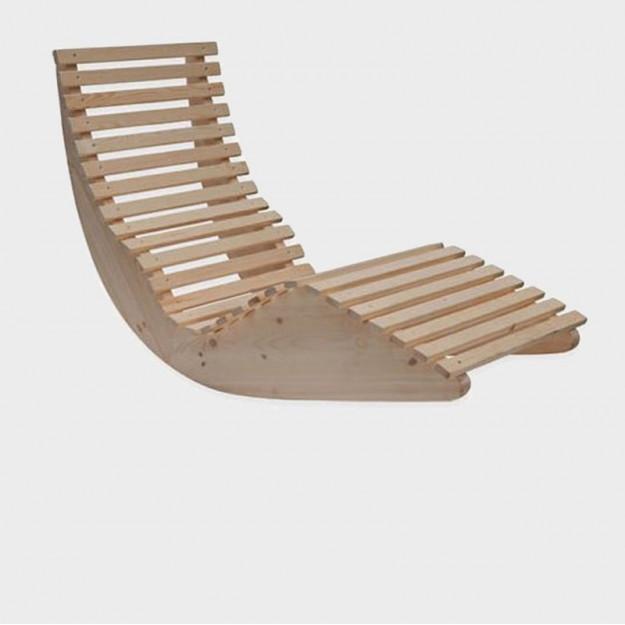 Lettino relax modello chaise lounge a dondolo, miglior prezzo online
