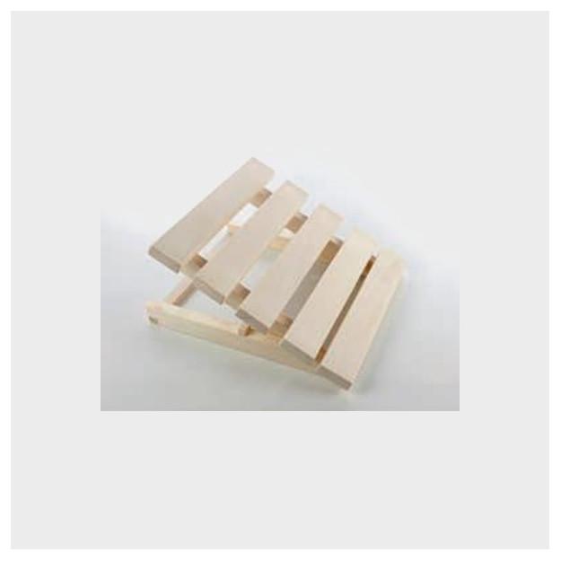 Poggiatesta per sauna in legno