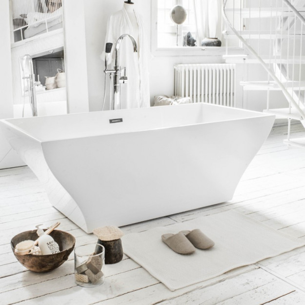 Vasca da bagno freestanding 170x80 in metacrilato. Ottimo prezzo