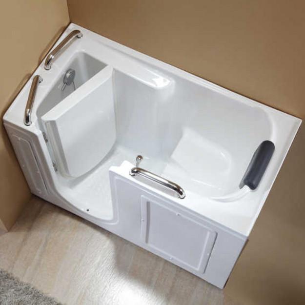 Vasca da bagno con sportello di ingresso laterale 134x68 - Vasca da bagno con sportello prezzo ...