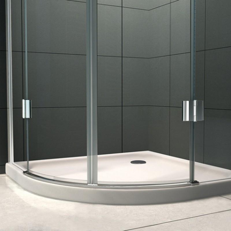 Box doccia semicircolare lusso vetro 8 mm varie misure - Cabine doccia vetro ...