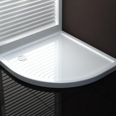 Piatto doccia semicircolare per cabina doccia PSA