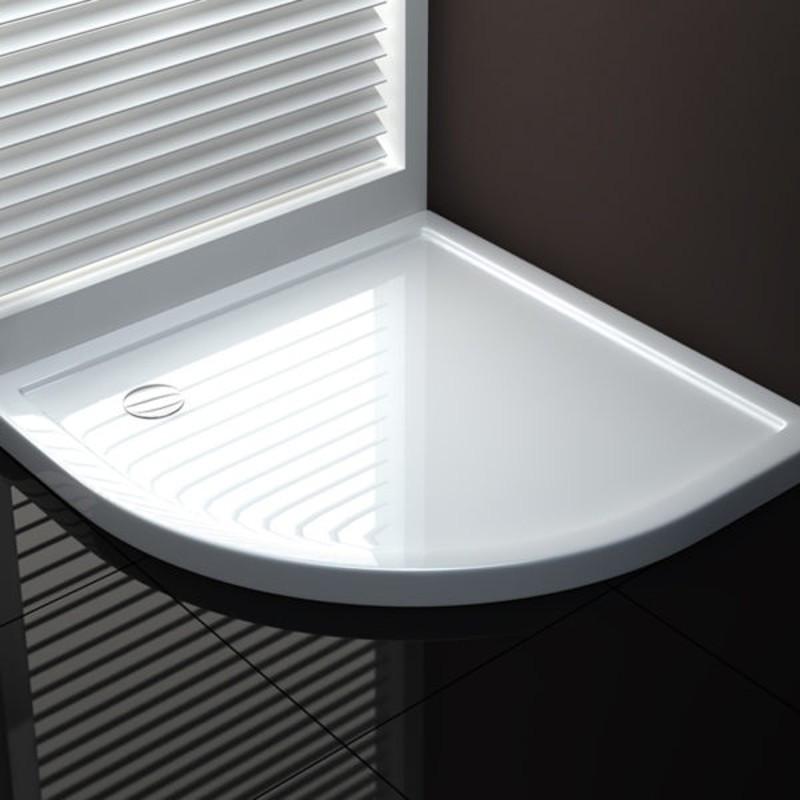 Piatto doccia semicircolare per cabina 80x80 90x90 100x100 buon prezzo