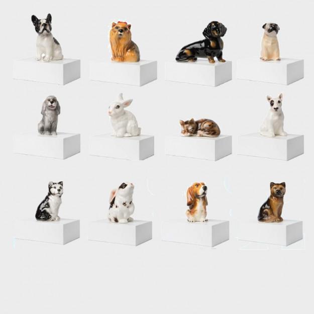 Estremamente Cofanetto in ceramica urna cineraria per animali: cani, gatti, conigli DD52