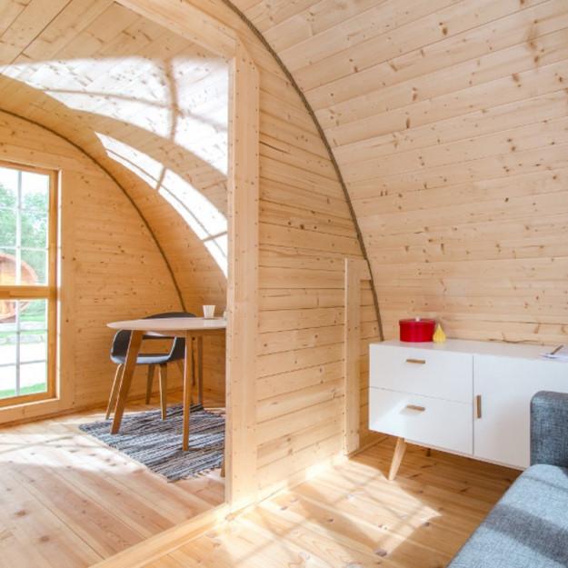 Gazebo in legno casetta bungalow isolato da giardino a for Modello di casa bungalow
