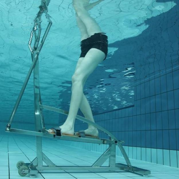 Idrobike ideale per idroterapia ed anche riabilitazione.
