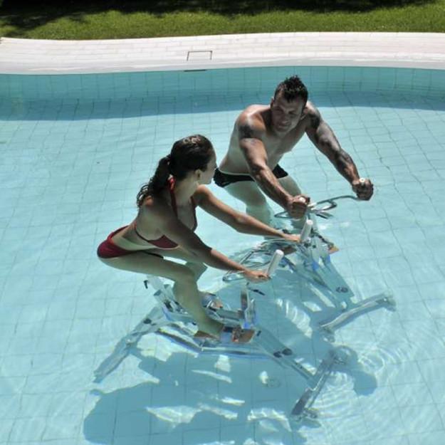 Idrobike professionale ideale per acquagym