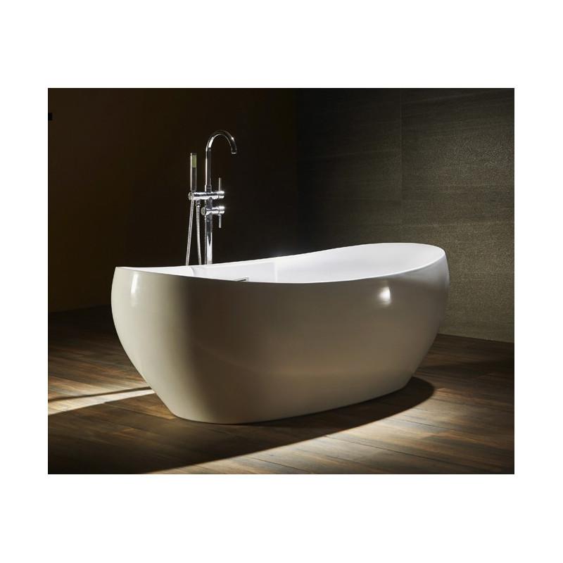 Vasca da bagno freestanding economica 175 x 85 cm mizar - Vasca da bagno freestanding ...