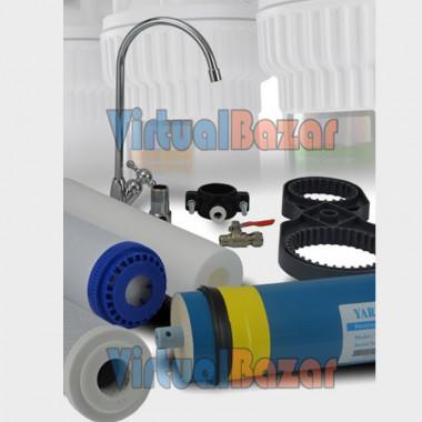 Accessori, rubinetto e filtri già inclusi