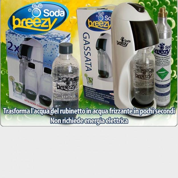 Gasatore d'acqua breezy