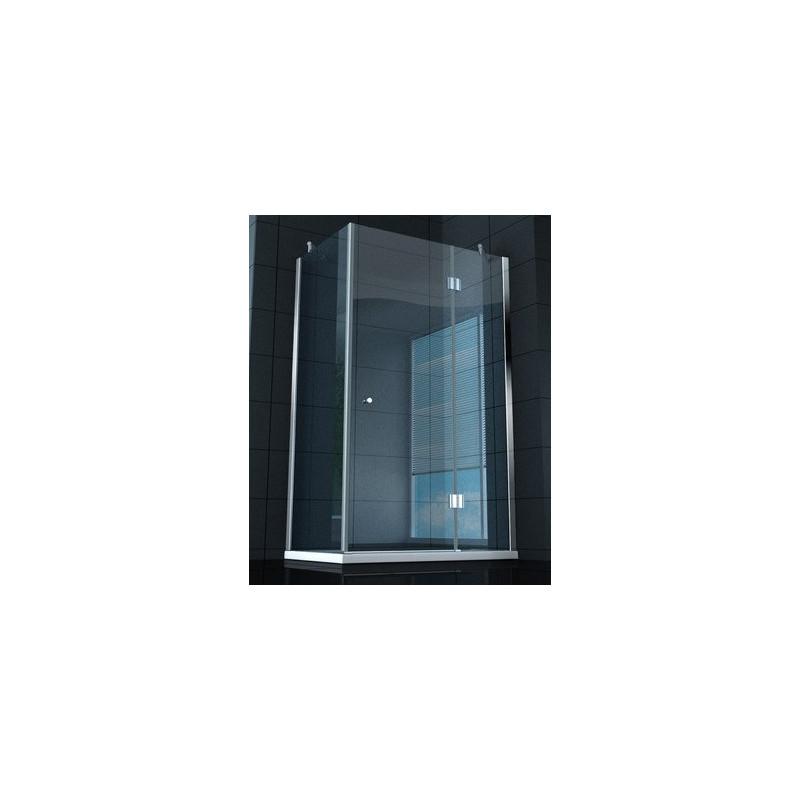 Box doccia rettangolare super lusso vetro 8 mm ottimo prezzo - Spessore porta ...