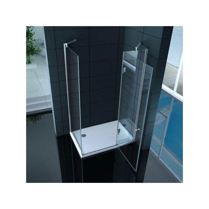 Cabina doccia rettangolare super lusso vetro 8 mm ottimo for Case di vetro di lusso
