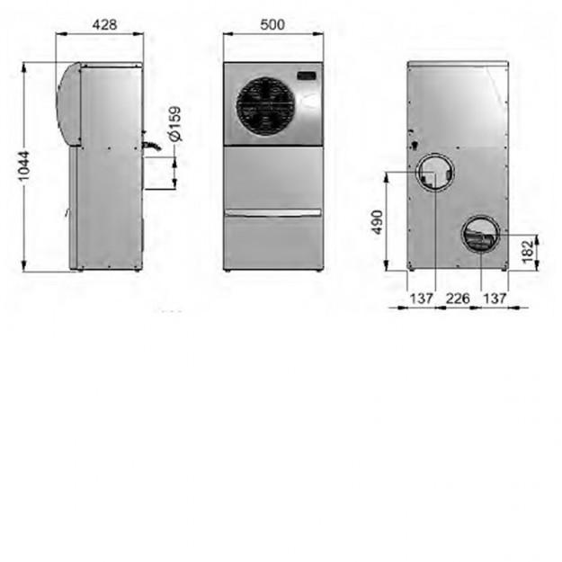 Dimensioni Climatizzatore per cantine monoblocco