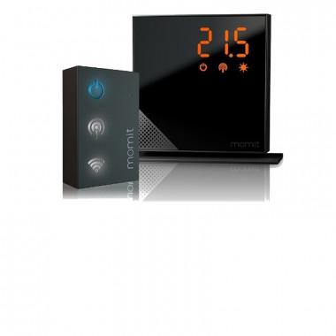 Crono termostato wifi Momit nero