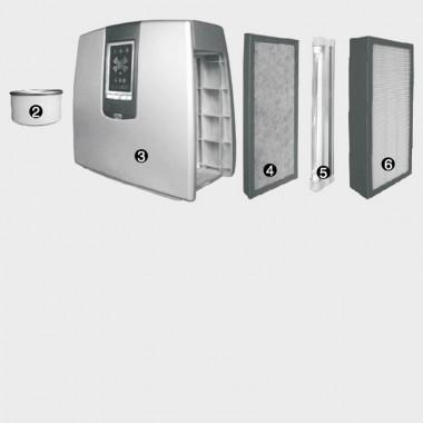 Set Filtri ionizzatore 230 m3/h