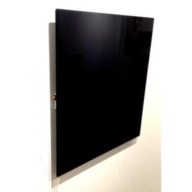Radiatore in vetro per riscaldamento ad infrarossi nero