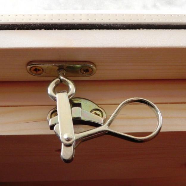 Elegante maniglia per apertura finestra