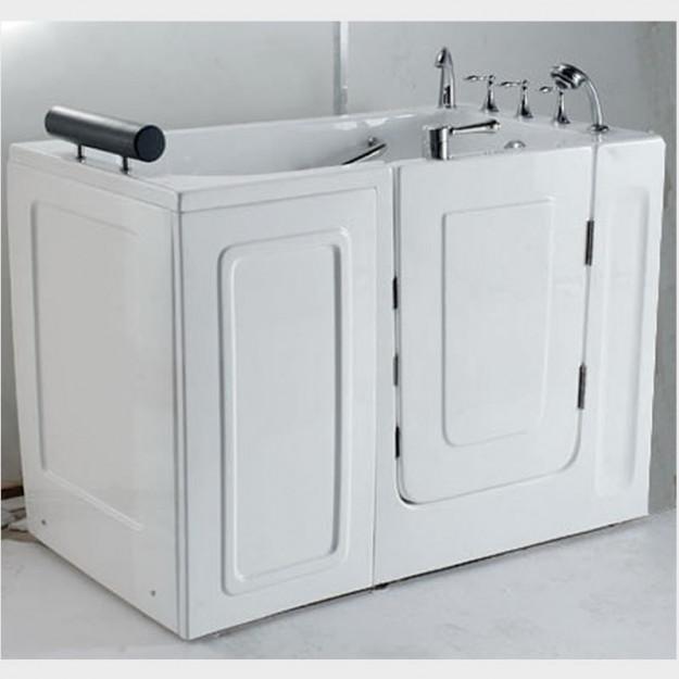 Pannello aggiuntivo laterale stretto 78 cm per vasche con - Vasche da bagno con apertura laterale ...