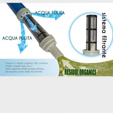Pompa aspirafango manuale per la pulizia di SPA minipiscine e vasche idromassaggio