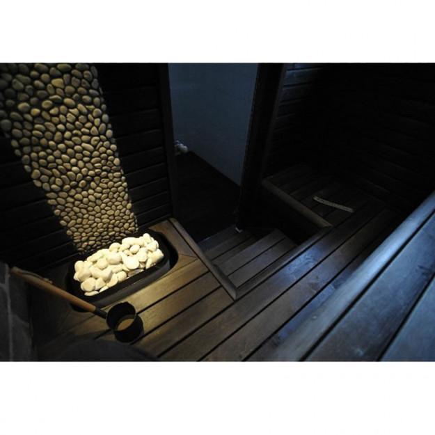 esempio di installazione in sauna