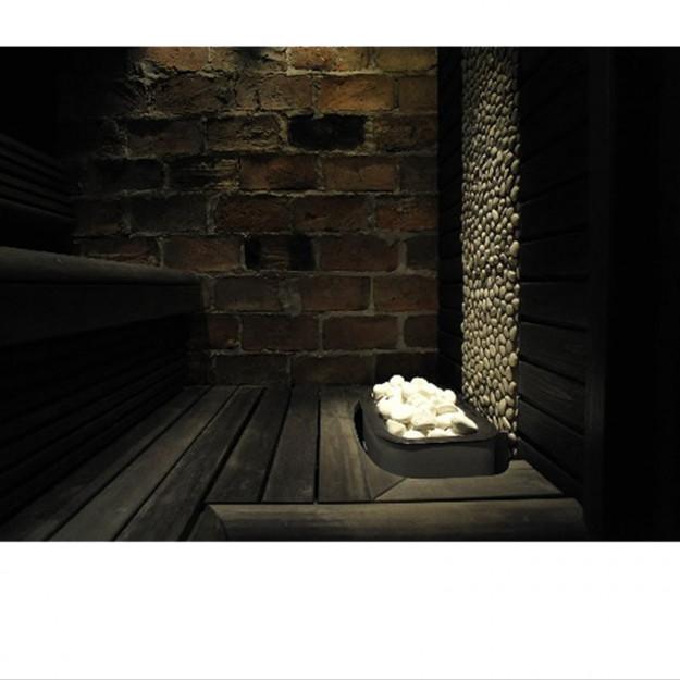 Stufa sauna Narvi esempio di installazione