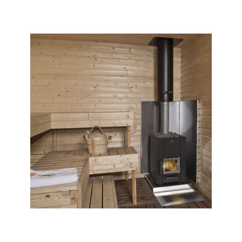 Stufa a legna per sauna kota due modelli da 14 o 20 m ottimo prezzo - Stufa a legna per termosifoni ...