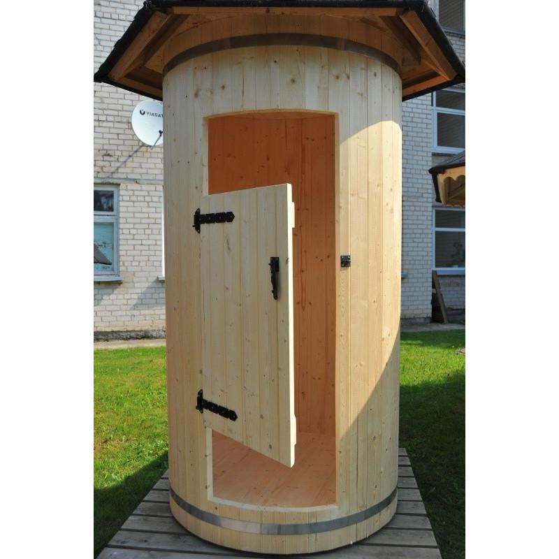 Cabina doccia da esterno in legno di abete ottimo prezzo for Cabina di legno