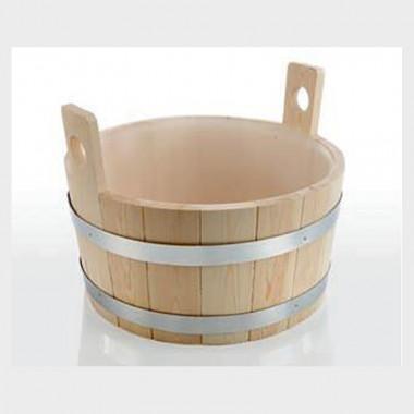 Bacinella per piedi in legno di conifera