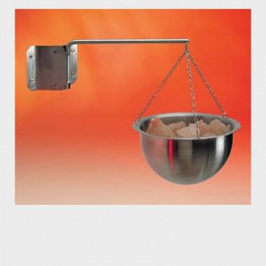 contenitore in acciaio con catena