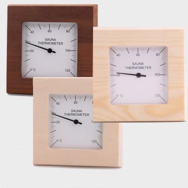 Termometri in legno per saune