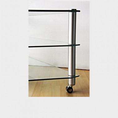 Kit rotelline per mobile porta tv supporto da 5 cm ottimo prezzo - Porta tv con rotelle ...