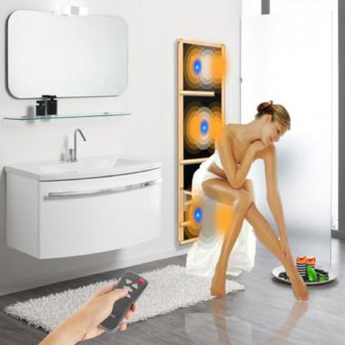 Il piacere di una benefica sauna infrarossi direttamente nel bagno di casa tua