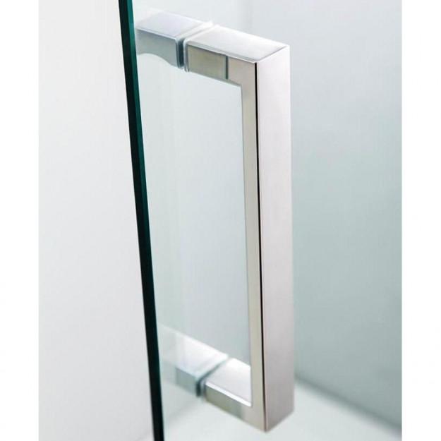 Box doccia scorrevole quadrato o rettangolare in vetro - Chiusura doccia scorrevole ...