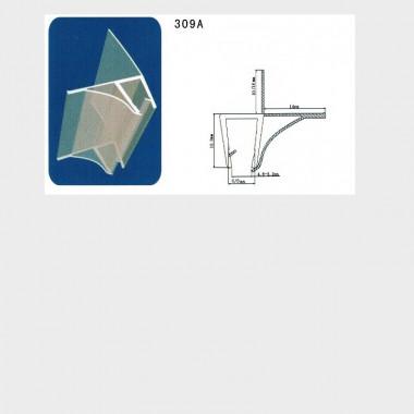 guarnizione singola box doccia - 1 pezzo - 6 mm
