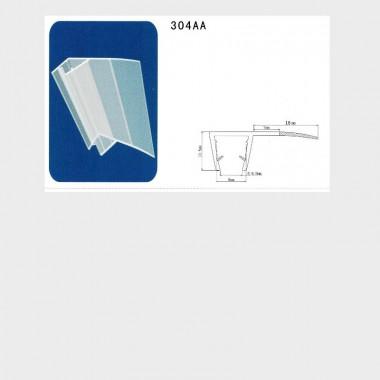 Coppia guarnizioni box doccia I-GUA-304AA - 2 pezzi - 8mm