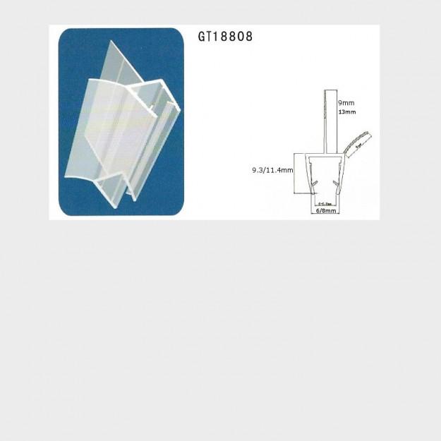 Guarnizioni Per Box Doccia.La Guarnizione Singola Per Doccia In Pvc Trasparente Con Due Alette