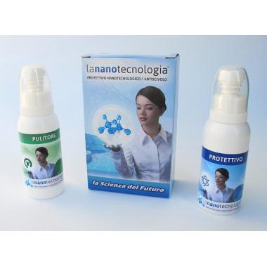 Prodotto nanotecnologico per pulizia permanente box doccia , vasche , piatti doccia