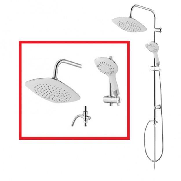 Set colonna per bagno con doccia e soffione - Doccia con soffione e doccetta ...