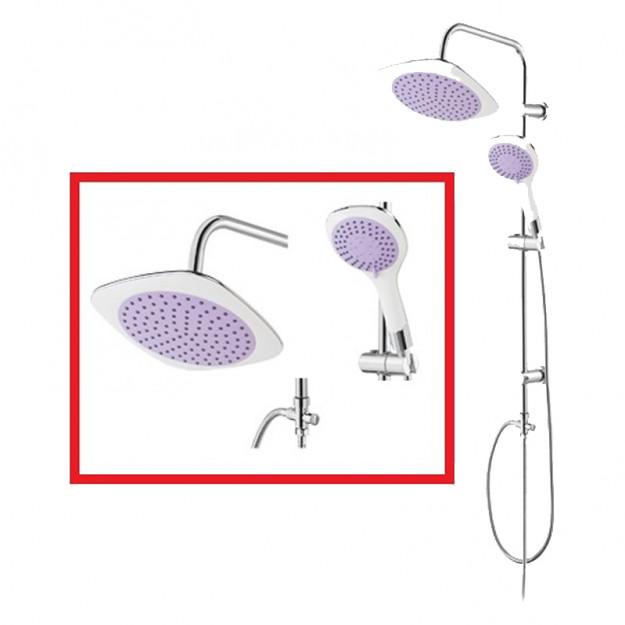 Set colonne doccia per il vostro bagno con soffione e - Doccia con soffione e doccetta ...