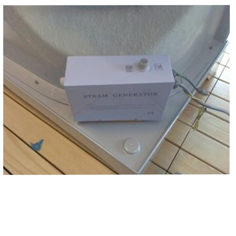 Kit Generatore Di Vapore Per Bagno Turco Per Box Doccia