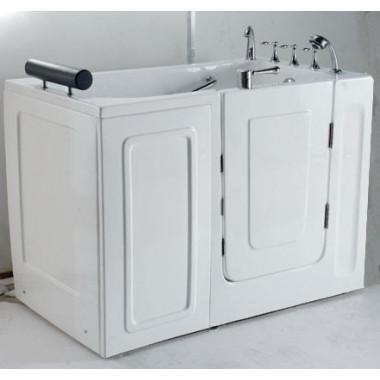 vasca da bagno con sportello dingresso frontale 136x78 cm